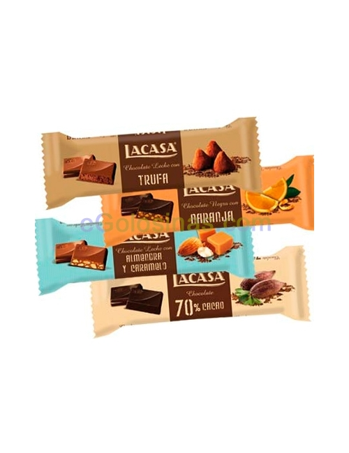 BARRITAS CHOCOLATE LACASA 35gr 32uds