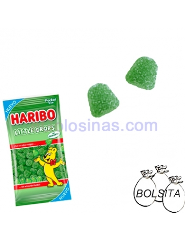 LITTLE DROP'S 100gr 18 Bolsitas Haribo