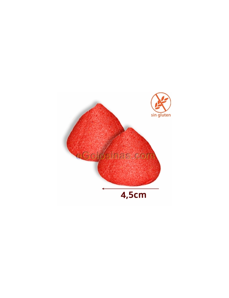 NUBES TOP MALLOWS FRESA ROJO 100uds