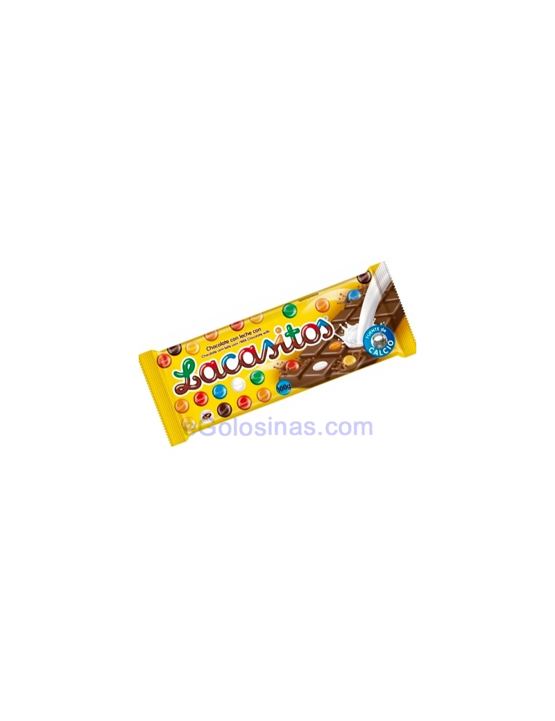 TABLETAS LACASITOS CHOCO LECHE 75gr 12uds