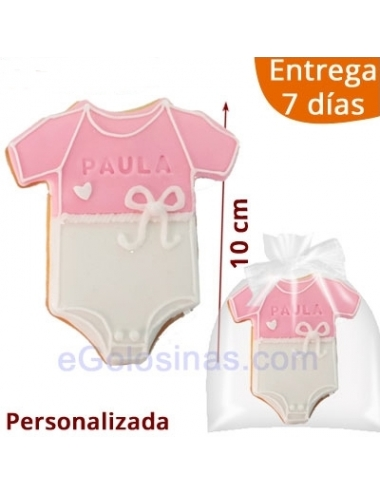 GALLETA DECORADA BODY ROSA PERSONALIZADA