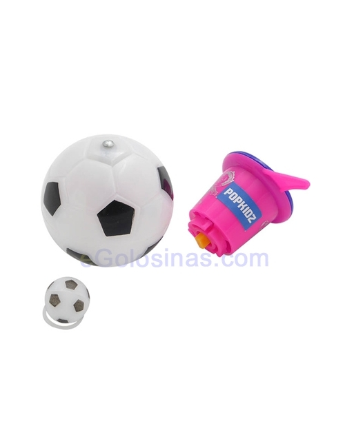 PELOTA FOOTBALL SPINNER 16uds POPKIDZ