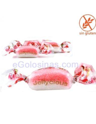 GUMMY JELLYCIOUS KISSES FRESA 200uds JAKE