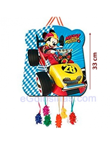 PIÑATA VIÑETA MICKEY ROADSTERS