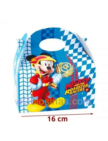 CAJITA MICKEY SUPERPILOTOS 4uds