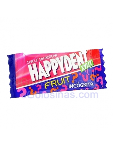 HAPPYDENT FRUIT INCÓGNITA 200uds