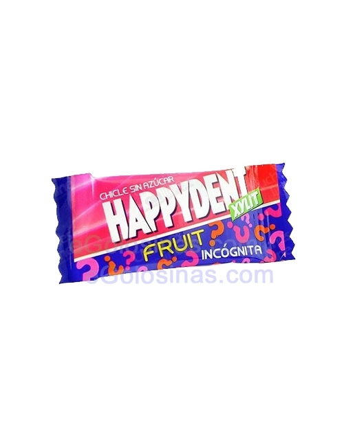 HAPPYDENT FRUIT INCOGNITA 200uds