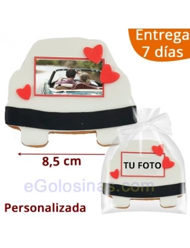 GALLETAS COCHE CASADOS con FOTO