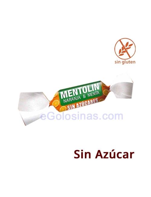 MENTOLIN NARANJA MENTA Sin Azucar 1kg.