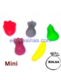MINI FRUTAS brillo 1Kg DULCIORA