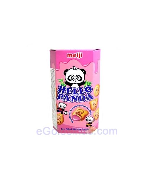 Chocolatina HELLO PANDA FRESA 10uds- Tu Tienda de Chocolate Online