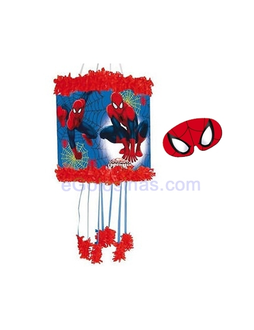 PIÑATA VIÑETA SPIDERMAN CON ANTIFAZ