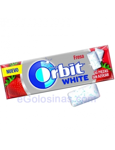 ORBIT WHITE FRESA GRAJEA 30uds