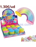 MUELLE LIGHT RAINBOW 16uds FANTASY TOYS