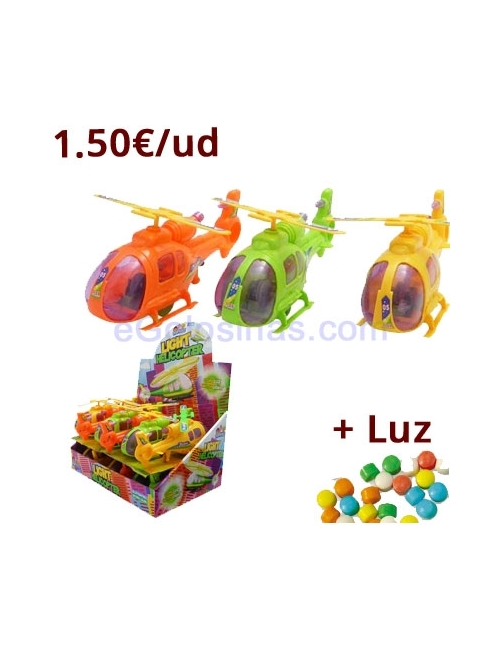 HELICOPTERO LIGHT 12uds POPKIDZ