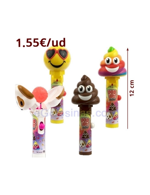 POP UPS BIP MOJI LOLLIPOP 12uds