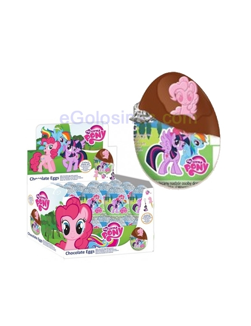 HUEVO CHOCOLATE MY LITTLE PONY  24uds