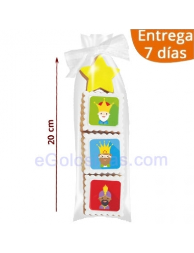 4 GALLETAS DECORADAS REYES MAGOS