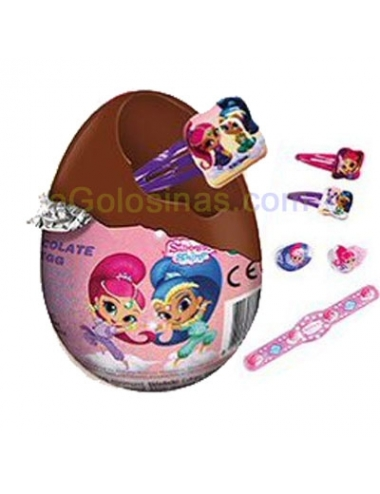 HUEVOS SOPRESA SHIMMER AND SHINE 24uds