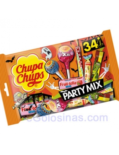PARTY MIX CHUPA CHUPS 400gr (34 piezas)