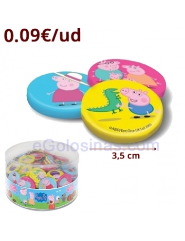 MONEDAS CHOCOLATE PEPPA PIG 235uds