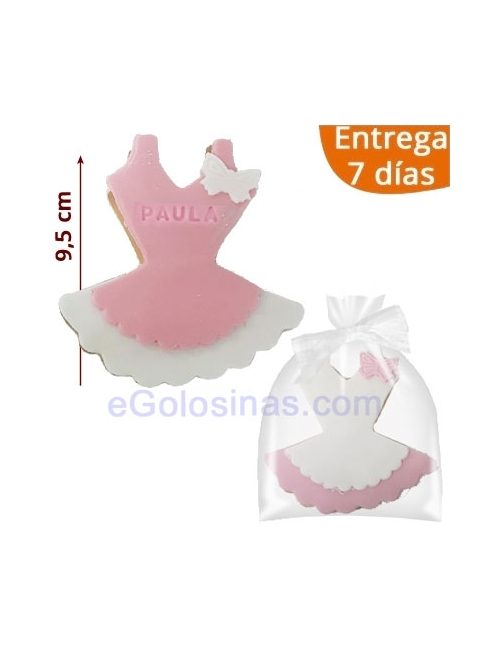 GALLETA DECORADA BAILARINA personalizada