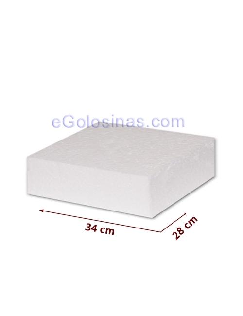 POREXPAN RECTANGULAR 34x28 cm 1uds