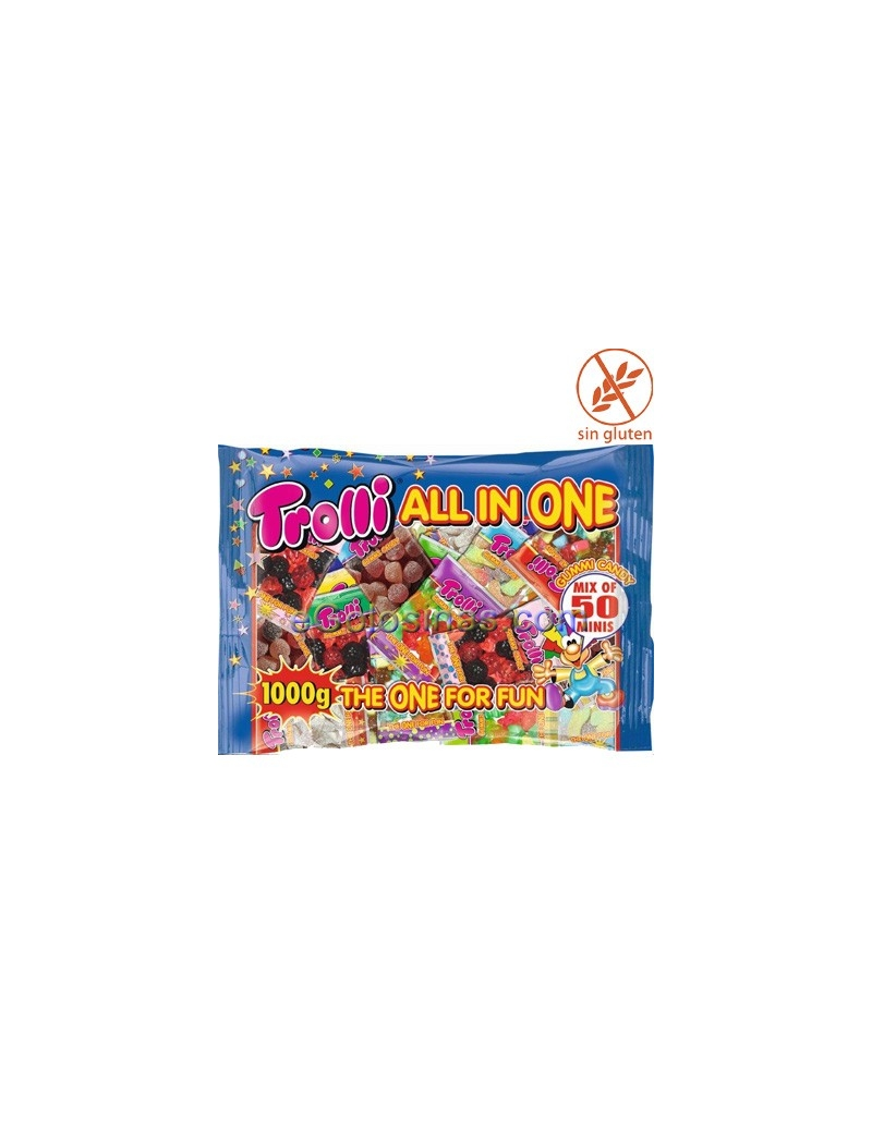 ALL IN ONE de TROLLI Bolsitas 50uds