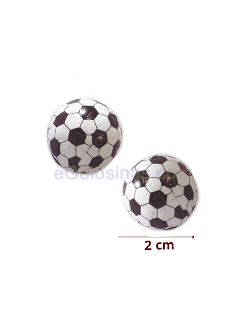 MINI PELOTAS FUTBOL CHOCOLATE 1Kg SORINI