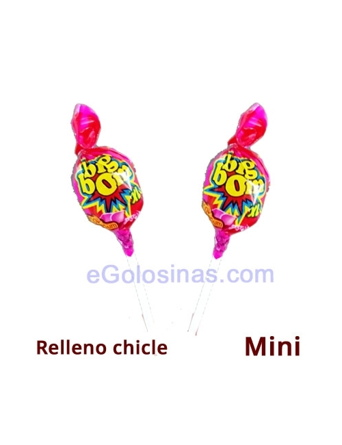 CHUPA CHICLE BIG BOM FRESA 24uds