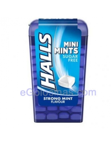 MINI MINT HALLS MENTA 12uds