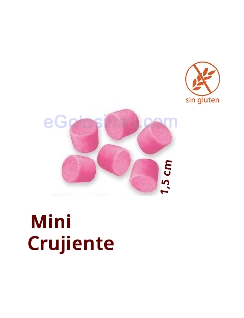 NUBES MINI CRUNCHY TOPPINGS ROSA 1Kg