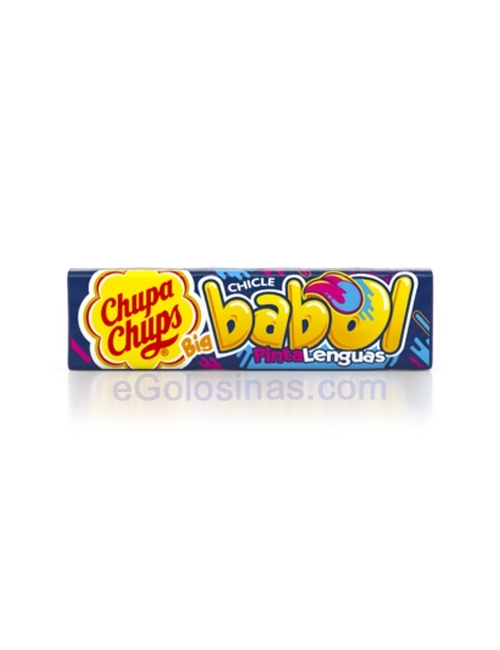 CHICLE BIG BABOL PINTALENGUAS 24uds