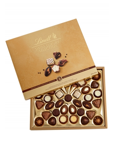CAJA BOMBONES SWISS LUXURY SELECTION 230gr LINDT