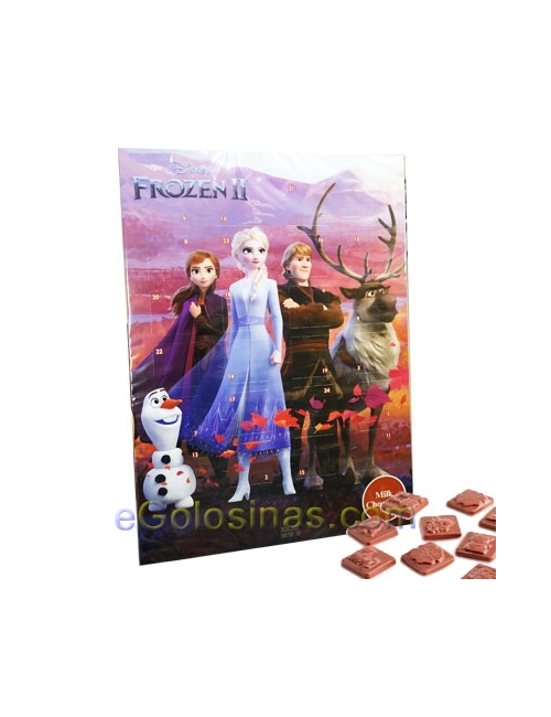 CALENDARIO CHOCOLATE FROZEN II 50gr