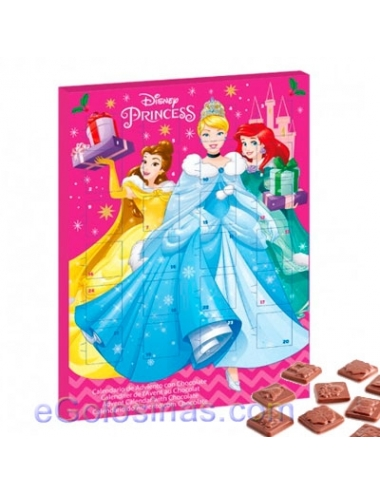 CALENDARIO ADVIENTO PRINCESAS DISNEY 50gr