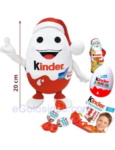 KINDERINO MINI MAX NAVIDAD 131gr relleno productos Kinder para regalar
