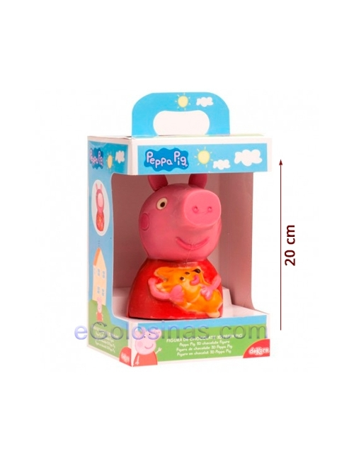 PEPPA PIG CHOCOLATE 3D 200gr PASCUA
