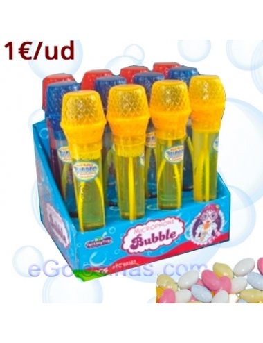 MICROPHONE BUBBLE 12uds FANTASY TOYS