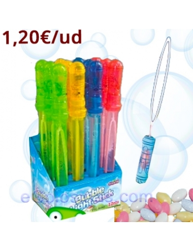 BUBBLE LIGHT STICCK 12uds FANTASY TOYS