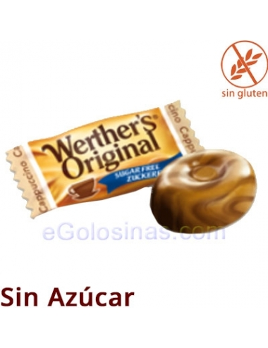 WERTHER´S CAPUCCINO Sin Azúcar 1Kg