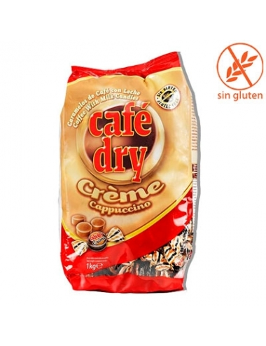 CARAMELO CAFE DRY CREME CAPUCCINO 1Kg (270uds aprox)