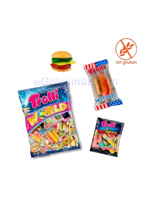 MULTIBOLSA WORLD TROLLI 230gr