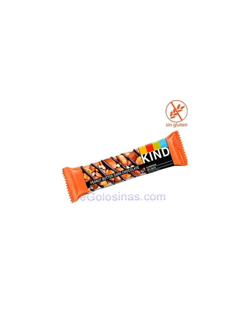 BARRITAS BE-KIND PEANUT BUTTER DARK CHOCO 12uds 40gr