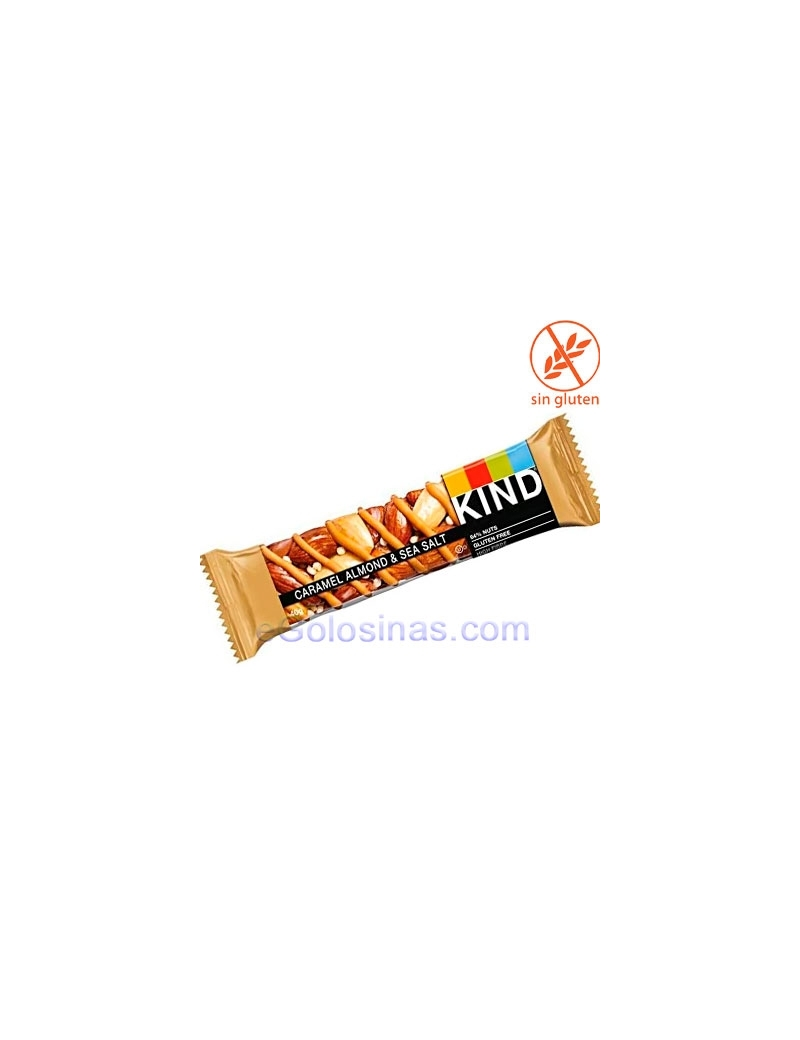 BARRITAS BE-KIND CARAMELO ALMOND & SEA SALT 12uds 40gr