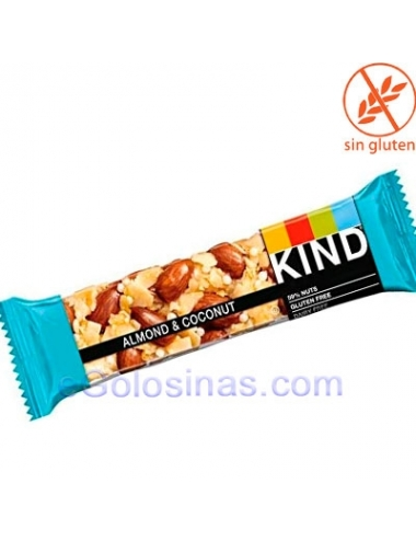 BARRITAS BE-KIND ALMOND & COCONUT 12uds 40gr