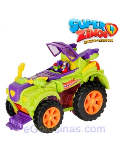 SUPERZINGS MONSTER ROLLER VERDE 1ud