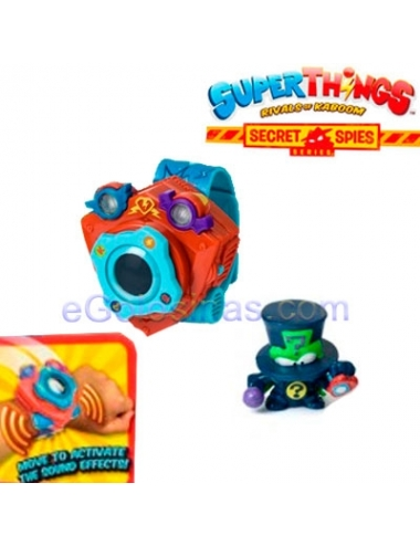 SUPERTHINGS Secret Spies BLISTER POWER BAND 1uds