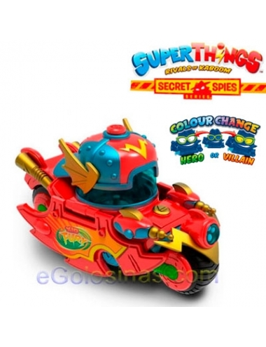 SUPERTHINGS Secret Spies  SPEED FURY Moto 1ud