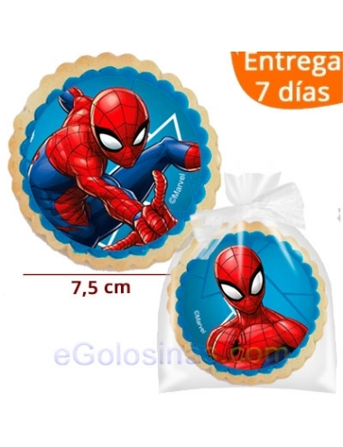 GALLETAS SPIDERMAN SURTIDOS